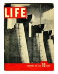 Magazines:Miscellaneous, Life Magazine V1#1 25th Anniversary Reprint (Time Life, 1961)Condition: VG....