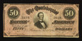 Confederate Notes:1864 Issues, T66 $50 1864.. ...
