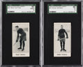 Hockey Cards:Lots, 1923-24 V128 Paulin's Candy SGC-Graded Pair (2). ...