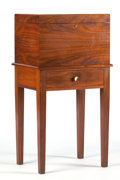 Furniture , AN ENGLISH MAHOGANY HUMIDOR ON STAND. Alfred Dunhill, London, England, circa 1960. Marks: Alfred Dunhill, London, New York... (Total: 2 Items)