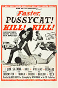 "Movie Posters:Sexploitation, Faster, Pussycat! Kill! Kill! (Eve Productions, 1965). One Sheet(27"" X 41"") Style A.. ..."