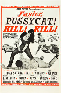 "Faster, Pussycat! Kill! Kill! (Eve Productions, 1965). One Sheet (27"" X 41"") Style A"