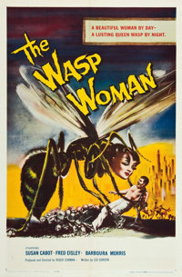 """The Wasp Woman (Film Group, 1959). One Sheet (27"""" X 41"""")"""