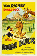 "Movie Posters:Animation, Dude Duck (RKO, 1951). One Sheet (27"" X 41"").. ..."