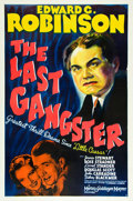 "Movie Posters:Crime, The Last Gangster (MGM, 1937). One Sheet (27"" X 41""). Style C.. ..."