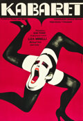 """Movie Posters:Musical, Cabaret (Allied Artists, 1972). Polish A1 Poster (23"""" X 33""""). ..."""