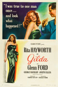 "Movie Posters:Film Noir, Gilda (Columbia, 1946). One Sheet (27"" X 41""). Style A.. ..."