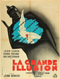 "Movie Posters:War, La Grande Illusion (R.A.C., R-1946). French Affiche (23.5"" X31.5"").. ..."