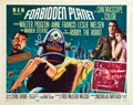 "Movie Posters:Science Fiction, Forbidden Planet (MGM, 1956). Half Sheet (22"" X 28""). Style A.. ..."