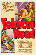 "Movie Posters:Drama, Tobacco Road (20th Century Fox, 1941). One Sheet (27"" X 41""). Style A.. ..."