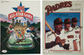 Baseball Collectibles:Programs, Rickey Henderson and Alomar Family Signed Programs Lot of 2....