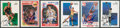 Basketball Cards:Lots, Basketball Stars Signed Cards Lot of 6....