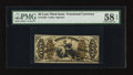 Fractional Currency:Third Issue, Fr. 1355 50¢ Third Issue Justice PMG Choice About Unc 58 EPQ.. ...