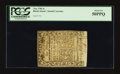 Colonial Notes:Rhode Island, Rhode Island May 1786 5s PCGS About New 50PPQ.. ...