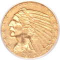Indian Half Eagles, 1915-S $5 MS61 PCGS....