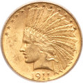 Indian Eagles, 1911-S $10 MS62 PCGS....