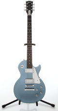 Musical Instruments:Electric Guitars, 2004 Les Paul Studio Ice Blue Electric Guitar, Serial #03564604....