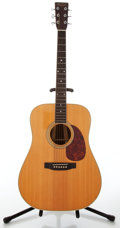 Musical Instruments:Acoustic Guitars, 1987 Martin D-3532 Shenandoah Natural Dreadnought Acoustic Guitar, Serial # 473493....