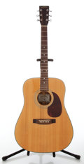Musical Instruments:Acoustic Guitars, 1990s Sigma DM-2 Natural Acoustic Guitar, Serial # 142205....
