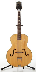 Musical Instruments:Acoustic Guitars, Circa 1956 Harmony Monterey Natural Archtop Acoustic Guitar, No Serial Number. ...