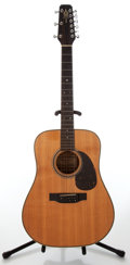 Musical Instruments:Acoustic Guitars, 1991 Alvarez Model DY 58 Natural 9-String Acoustic Guitar, Serial #32376....