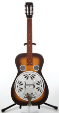 Musical Instruments:Resonator Guitars, 1950s Dobro Model 60 Sunburst Resonator Guitar, Serial # 8 135626....