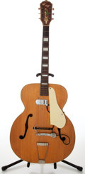Musical Instruments:Acoustic Guitars, 1950s Kay 45 Natural Archtop Acoustic Guitar, Serial # 8445....