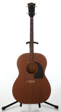 Musical Instruments:Acoustic Guitars, Circa 1974 Gibson J-50 Natural Acoustic Guitar, No Visible SerialNumber....