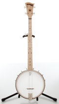Musical Instruments:Banjos, Mandolins, & Ukes, Recent Deering Goodtime Openback Natural 5-String Banjo, No Visible Serial Number....