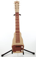 Musical Instruments:Lap Steel Guitars, 1950s Gibson Tan Lap Steel. No Visible Serial Number. ...