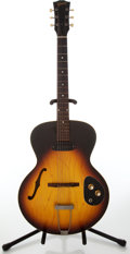 Musical Instruments:Electric Guitars, 1960s Gibson ES-120T Sunburst Archtop Electric Guitar, Serial #162261....