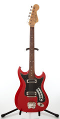 Musical Instruments:Electric Guitars, 1960s Hagstrom II Red Electric Guitar, Serial # 608577....