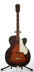 Musical Instruments:Acoustic Guitars, 1950s Kay K1 Sunburst Archtop Acoustic Guitar, Serial # 8901....