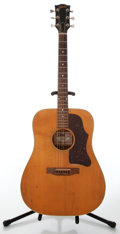 Musical Instruments:Acoustic Guitars, 1970's Gibson J-50 Deluxe Natural Acoustic Guitar, Serial#311814....