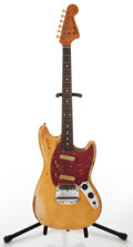 Musical Instruments:Electric Guitars, 1964 Fender Mustang Aged White Electric Guitar, Serial # L47460....
