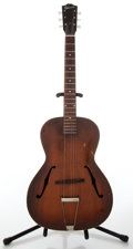 Musical Instruments:Acoustic Guitars, Circa 1943 Gibson L-50 Sunburst Archtop Acoustic Guitar, No SerialNumber. ...