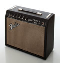 Musical Instruments:Amplifiers, PA, & Effects, December 1966 Fender Vibro Champ Black Face Guitar Amplifier,Serial # 16056....