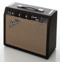 Musical Instruments:Amplifiers, PA, & Effects, November 1966 Fender Champ Black Face Guitar Amplifier....