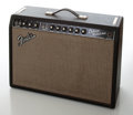 Musical Instruments:Amplifiers, PA, & Effects, 1966 Fender Deluxe Reverb Black Face Guitar Amplifier, Serial # A 14209....