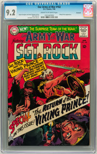 Our Army at War #162 Savannah pedigree (DC, 1966) CGC NM- 9.2 Cream to off-white pages