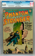 Golden Age (1938-1955):Horror, The Phantom Stranger #6 Savannah pedigree (DC, 1953) CGC FN 6.0Off-white to white pages. ...