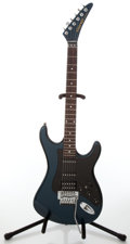 Musical Instruments:Electric Guitars, 1984 Kramer Striker 300ST Midnight Blue Electric Guitar, Serial #SA1459....