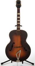 Musical Instruments:Acoustic Guitars, 1953 Gretsch Synchromatic Archtop Acoustic Guitar, No SerialNumber. ...