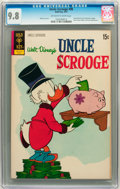 Bronze Age (1970-1979):Cartoon Character, Uncle Scrooge #98 (Gold Key, 1972) CGC NM/MT 9.8 Off-white to white pages....