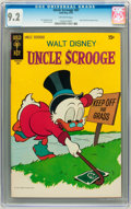 Bronze Age (1970-1979):Cartoon Character, Uncle Scrooge #87 (Gold Key, 1970) CGC NM- 9.2 Off-white pages....
