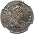 Early Quarters, 1804 25C --Improperly Cleaned--NGC Details. VF. B-1, R.4....
