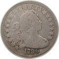 Early Quarters, 1796 25C VG10 PCGS. B-2, R.3....