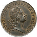 Undated 2PENCE Rosa Americana Twopence, Label MS62 Brown PCGS. Martin 2-B, W-1322, R.6