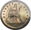 Proof Seated Quarters, 1864 25C PR65 Cameo PCGS....