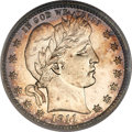 Proof Barber Quarters, 1911 25C PR66 Deep Cameo PCGS. CAC....